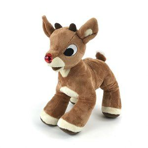 Build a Bear Rudolph the Red Nose Reindeer Plush